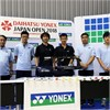 Yonex Stringing Team and Kento Momota express thanks, mutual support