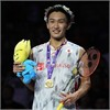 TOTAL BWF World Championships 2018: Kento Momota is world champ! Team Yonex wins three golds!