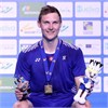 With new ASTROX 88 S in hand, Viktor Axelsen wins the European Championships! Team Yonex Sweeps!
